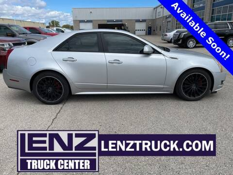 2010 Cadillac CTS for sale at LENZ TRUCK CENTER in Fond Du Lac WI