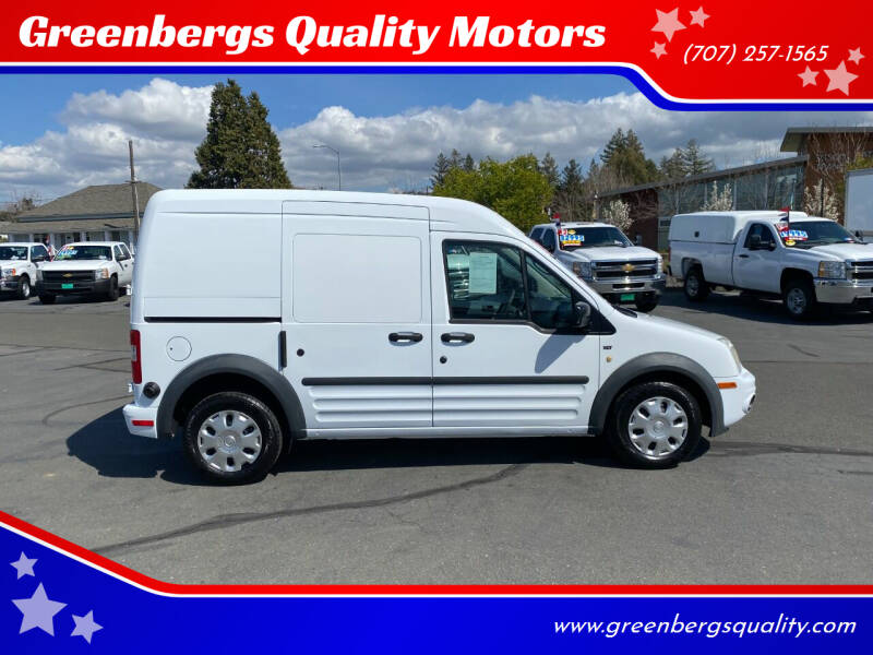 2013 Ford Transit Connect for sale at Greenbergs Quality Motors in Napa CA