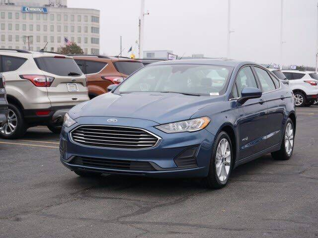 2019 Ford Fusion Hybrid for sale at Work With Me Dave in Southfield MI