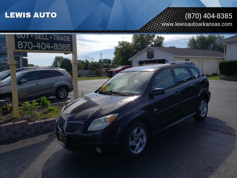 2007 Pontiac Vibe for sale at LEWIS AUTO in Mountain Home AR