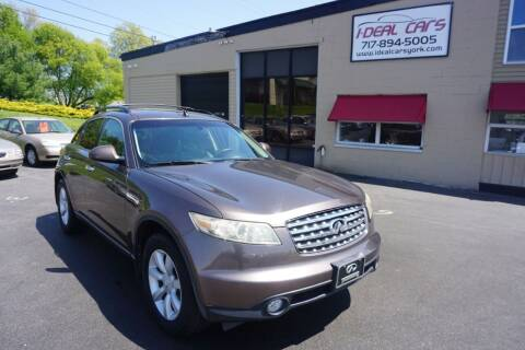 2005 Infiniti FX35 for sale at I-Deal Cars LLC in York PA