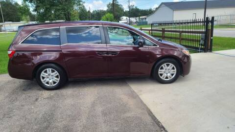 2012 Honda Odyssey for sale at MG Autohaus in New Caney TX