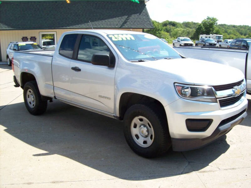 2018 Chevrolet Colorado for sale at Summit Auto Inc in Waterford PA