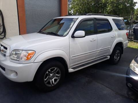 2006 Toyota Sequoia for sale at LAND & SEA BROKERS INC in Deerfield FL