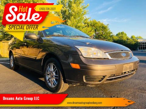 2007 Ford Focus for sale at Dreams Auto Sales LLC in Leesburg VA
