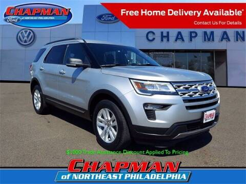 2019 Ford Explorer for sale at CHAPMAN FORD NORTHEAST PHILADELPHIA in Philadelphia PA