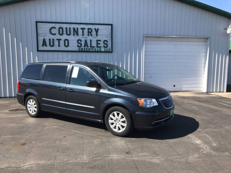 2014 Chrysler Town and Country for sale at COUNTRY AUTO SALES LLC in Greenville OH
