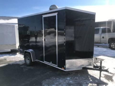2022 Pace American 6x12 V-Nose Single Axle  for sale at Forkey Auto & Trailer Sales in La Fargeville NY