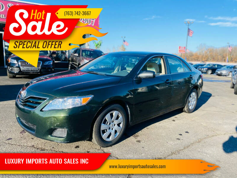 2010 Toyota Camry for sale in North Branch, MN