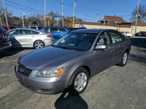 2008 Hyundai Sonata for sale at Richland Motors in Cleveland OH