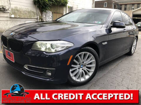 2015 BMW 5 Series for sale at World Class Auto Exchange in Lansdowne PA