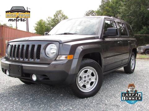 2016 Jeep Patriot for sale at High-Thom Motors in Thomasville NC