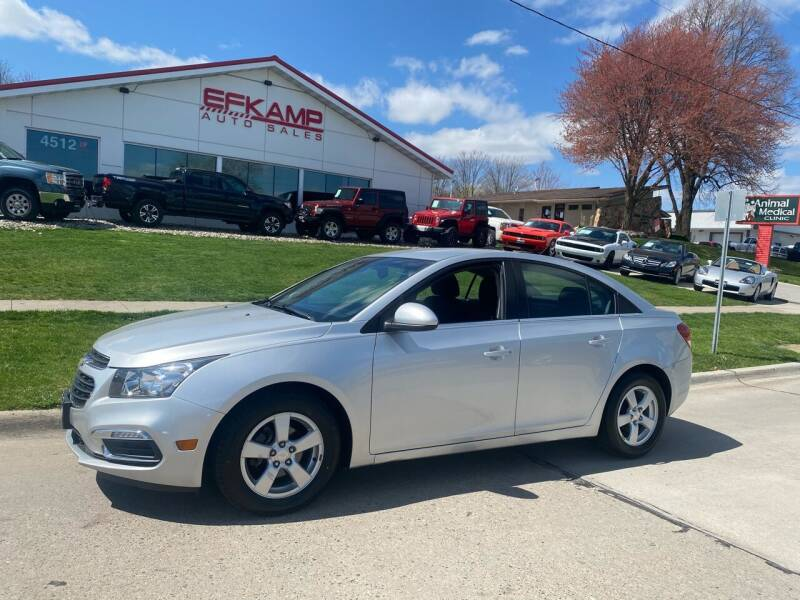 2016 Chevrolet Cruze Limited for sale at Efkamp Auto Sales LLC in Des Moines IA