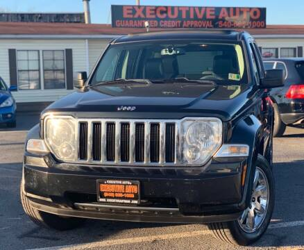 2008 Jeep Liberty for sale at Executive Auto in Winchester VA