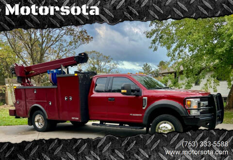 2018 Ford F-550 for sale at Motorsota in Becker MN