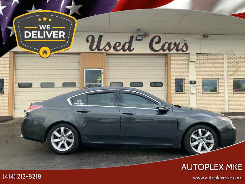 2012 Acura TL for sale at Autoplex MKE in Milwaukee WI