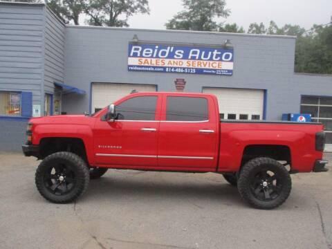 2015 Chevrolet Silverado 1500 for sale at Reid's Auto Sales & Service in Emporium PA