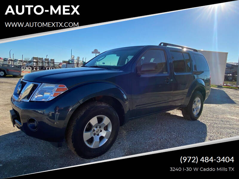 2008 Nissan Pathfinder for sale at AUTO-MEX in Caddo Mills TX