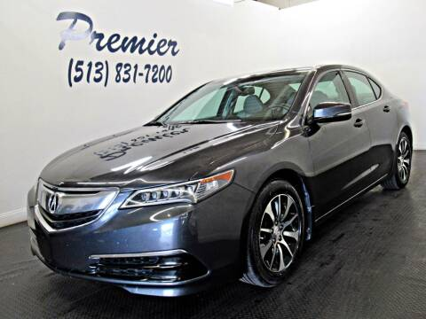 2015 Acura TLX for sale at Premier Automotive Group in Milford OH