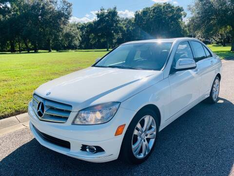 2008 Mercedes-Benz C-Class for sale at FLORIDA MIDO MOTORS INC in Tampa FL