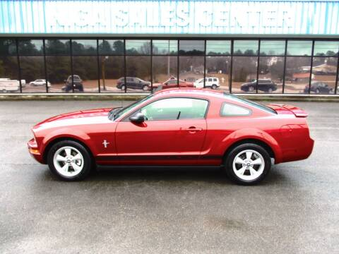 2008 Ford Mustang for sale at NORTH GEORGIA Sales Center in La Fayette GA