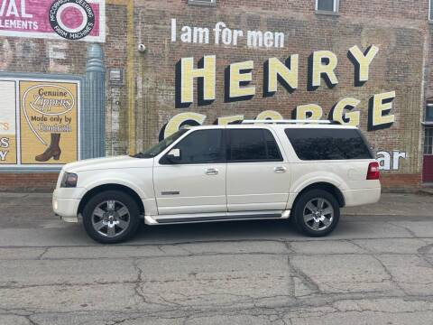 2007 Ford Expedition EL for sale at Main St Motors Inc. in Sheridan IN