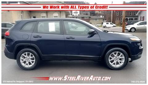 2014 Jeep Cherokee for sale at Steel River Auto in Bridgeport OH
