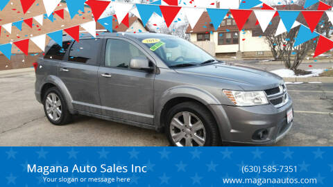 2012 Dodge Journey for sale at Magana Auto Sales Inc in Aurora IL