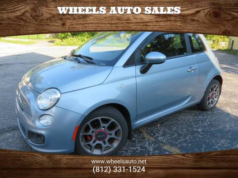 2013 FIAT 500 for sale at Wheels Auto Sales in Bloomington IN