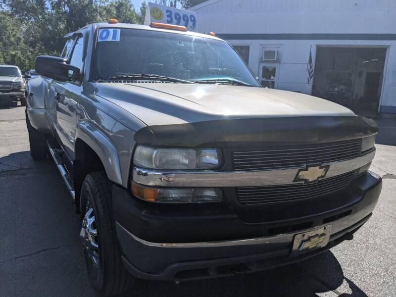 2001 Chevrolet Silverado 3500 for sale at GREAT DEALS ON WHEELS in Michigan City IN