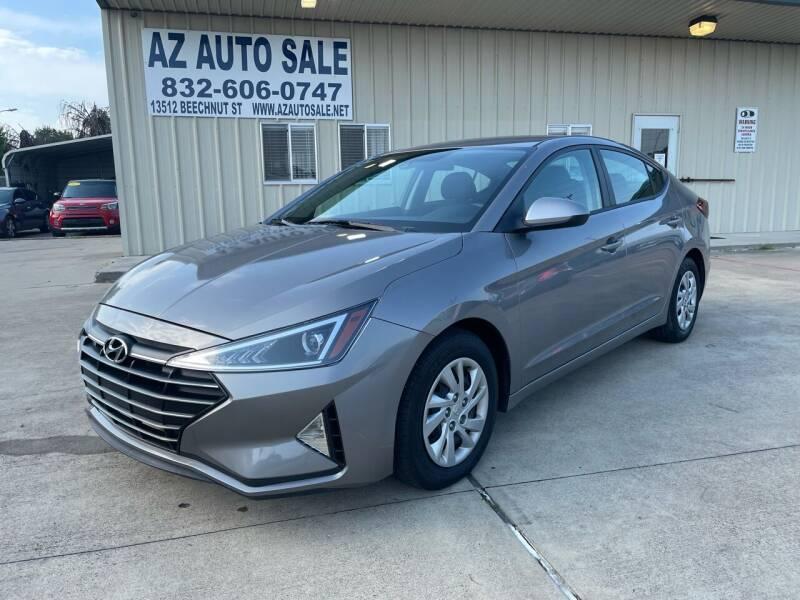 2020 Hyundai Elantra for sale at AZ Auto Sale in Houston TX