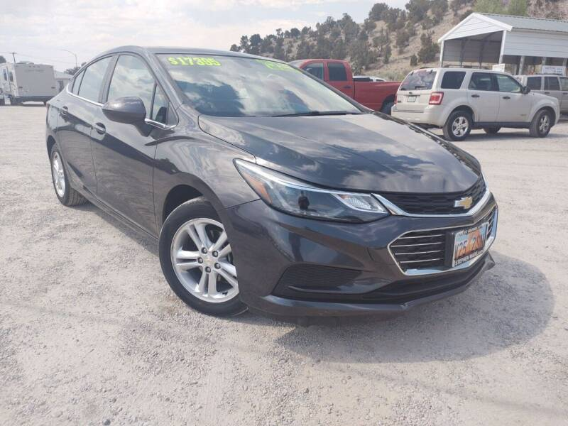 2017 Chevrolet Cruze for sale at Canyon View Auto Sales in Cedar City UT