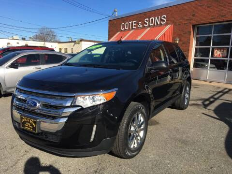 2013 Ford Edge for sale at Cote & Sons Automotive Ctr in Lawrence MA