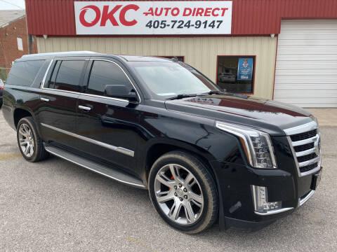 2015 Cadillac Escalade ESV for sale at OKC Auto Direct, LLC in Oklahoma City OK