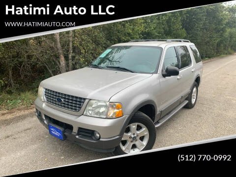 2004 Ford Explorer for sale at Hatimi Auto LLC in Buda TX