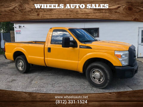 2012 Ford F-250 Super Duty for sale at Wheels Auto Sales in Bloomington IN