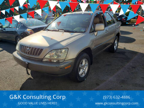 2001 Lexus RX 300 for sale at G&K Consulting Corp in Fair Lawn NJ