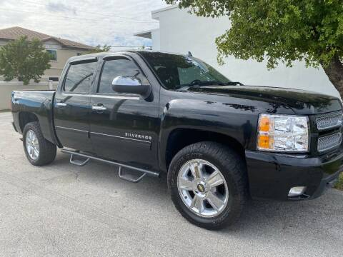 2012 Chevrolet Silverado 1500 for sale at Car Girl 101 in Oakland Park FL