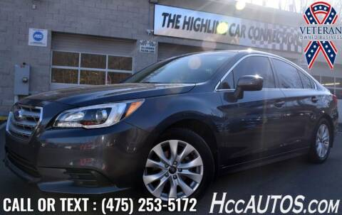 2017 Subaru Legacy for sale at The Highline Car Connection in Waterbury CT