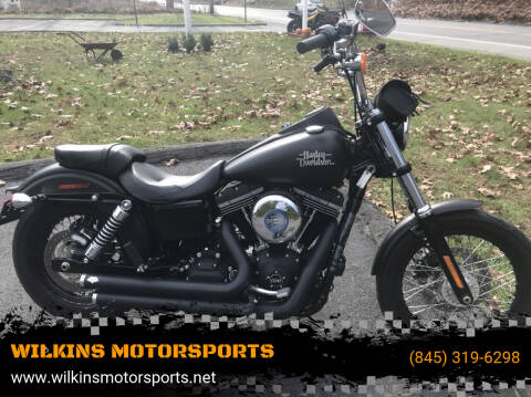 2017 Harley-Davidson Street Bob for sale at WILKINS MOTORSPORTS in Brewster NY
