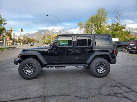 2014 Jeep Wrangler Unlimited for sale at UTAH AUTO EXCHANGE INC in Midvale UT
