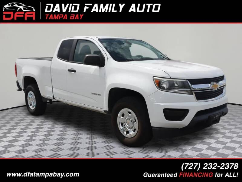 2016 Chevrolet Colorado for sale at David Family Auto in New Port Richey FL