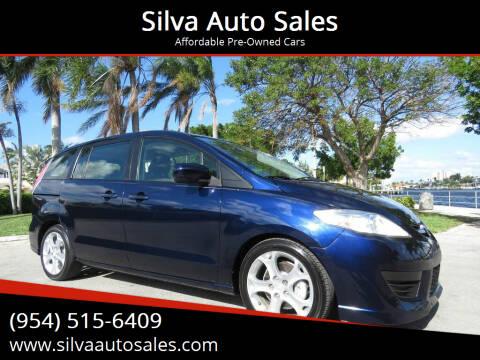 2010 Mazda MAZDA5 for sale at Silva Auto Sales in Pompano Beach FL