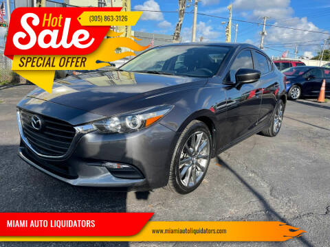 2018 Mazda MAZDA3 for sale at MIAMI AUTO LIQUIDATORS in Miami FL