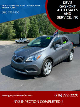 2015 Buick Encore for sale at KEV'S GASPORT AUTO SALES AND SERVICE, INC in Gasport NY