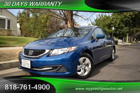 2014 Honda Civic for sale at Prestige Auto Sports Inc in North Hollywood CA