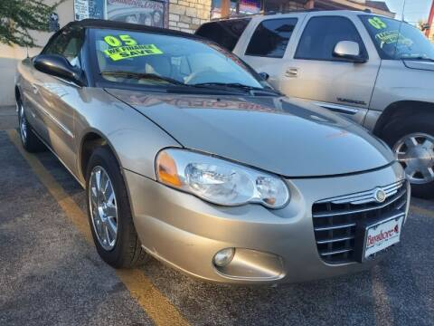 2004 Chrysler Sebring for sale at USA Auto Brokers in Houston TX