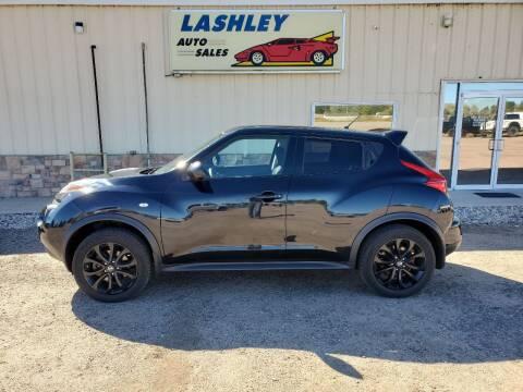 2014 Nissan JUKE for sale at Lashley Auto Sales in Mitchell NE