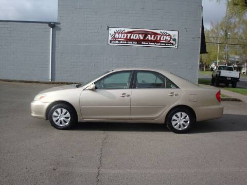 2002 Toyota Camry for sale at Motion Autos in Longview WA