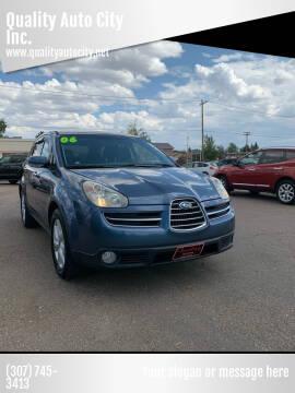 2006 Subaru B9 Tribeca for sale at Quality Auto City Inc. in Laramie WY